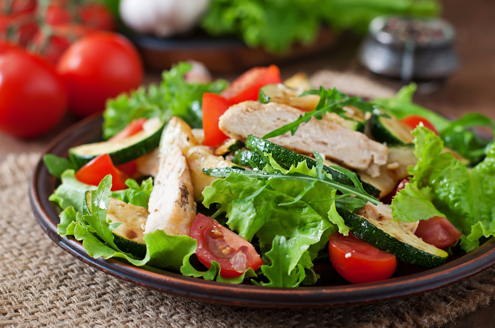 chicken veggie salad