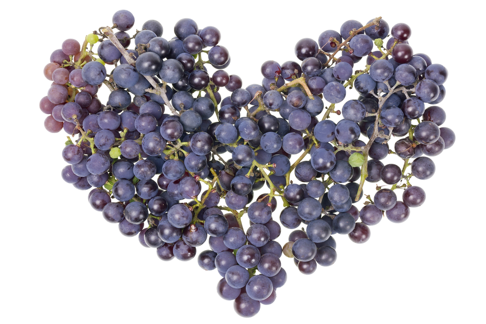 heart grapes