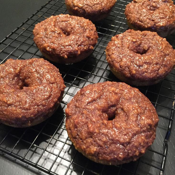 Cinnamon Sugar Glazed Pumpkin Spice Donuts